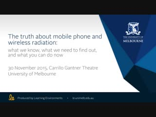The truth about mobile phone and wireless radiation - dr devra davis