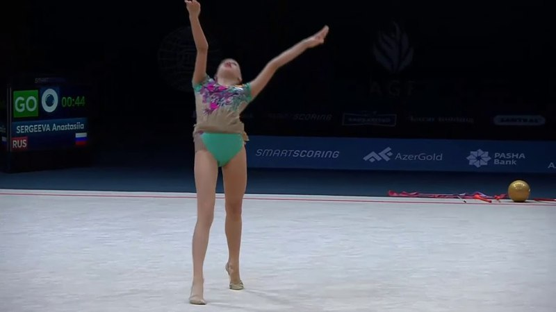 Anastasiia Sergeeva - Ball Q - AGF Junior Trophy 2018