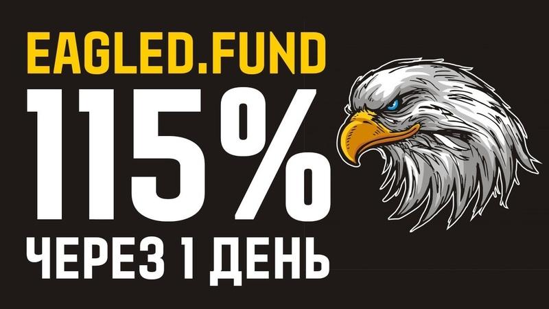 ОБЗОР EAGLED FUND - ЗДЕСЬ МОЖНО ЗАРАБОТАТЬ 115% ВСЕГО ЗА 1 ДЕНЬ!