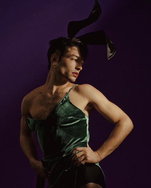 Ezra Miller for Playboy, 2018 Ryan Pfluger