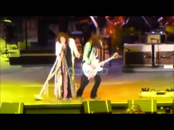Steven Tyler Joe Perry - Hollywood Bowl 2013 FULL CONCERT