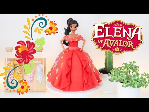 ELENA OF AVALOR 👑 DOLL CAKE || TAN DULCE