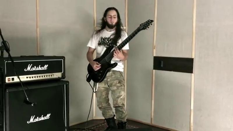 Infant Annihilator - Cuntcrusher (Guitar cover by Volgin Iliya)