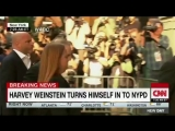 JUST IN Weinstein turns himself into police