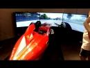 Official Scuderia Ferrari Simulator in ALMATY Dostyk Plaza Trade Center