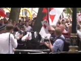 Tommy Robinson march Five police officers injured as London rally spirals out of control