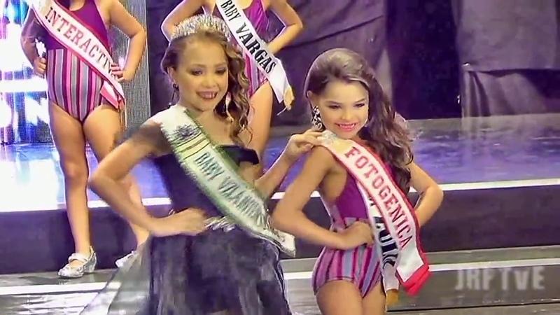 Miss Teen Venezuela Mundo 2018 - Elección y Coronación - Infantil - Traje de Baño Parte 3