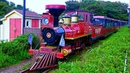 RailWay. Steam Train at Jeju Ecoland Theme Park / Паровозик в тематическом парке на о. Чеджу