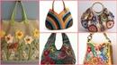 Beautiful handmade crochet handbags pattern and styles