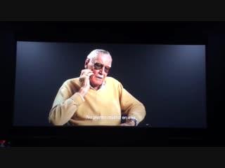 Стэн Ли в сцене после титров фильма Жил-был Дэдпул.