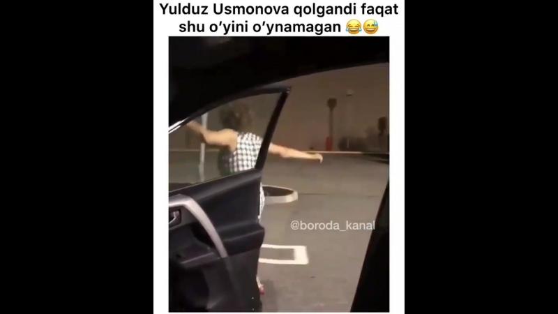 Yulduz Usmonova qolgandi faqat shu o'yini o'ynamagan kulgu_uzb UzbekKliplarHD