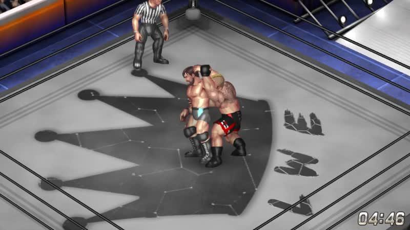 Deathold VS Brock Lesnar. Single Match