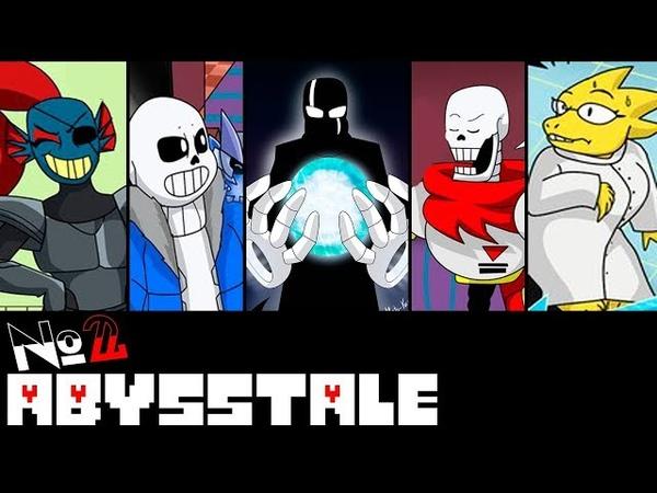 Comics Abysstale Undertale Глава 1 часть 2 Озвученный Комикс 🎙️