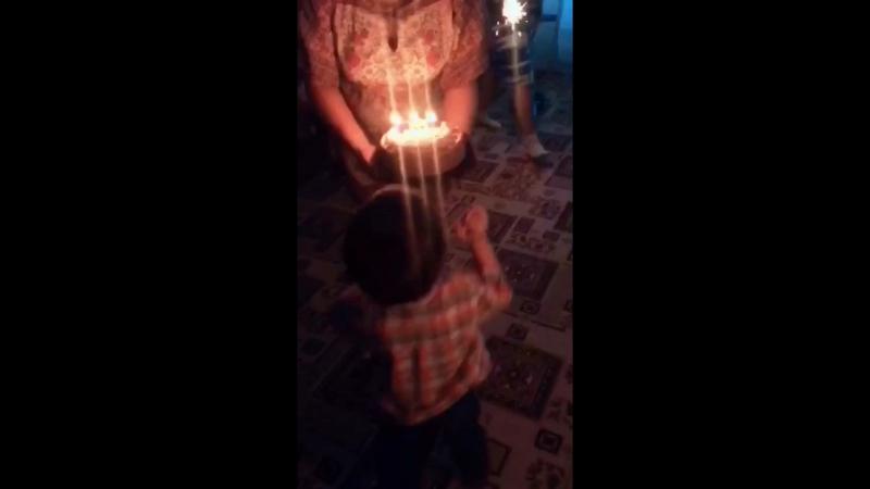 День Рождение малышки 3 годика