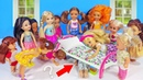 СПРЯТАЛСЯ ПОД КРОВАТЬЮ У ДЕВОЧЕК! Мультфильм, куклы в школьном лагере barbie, барби, мультик, куклы, dolls, lol, для девочек, мультфильм, блогер, топ,
