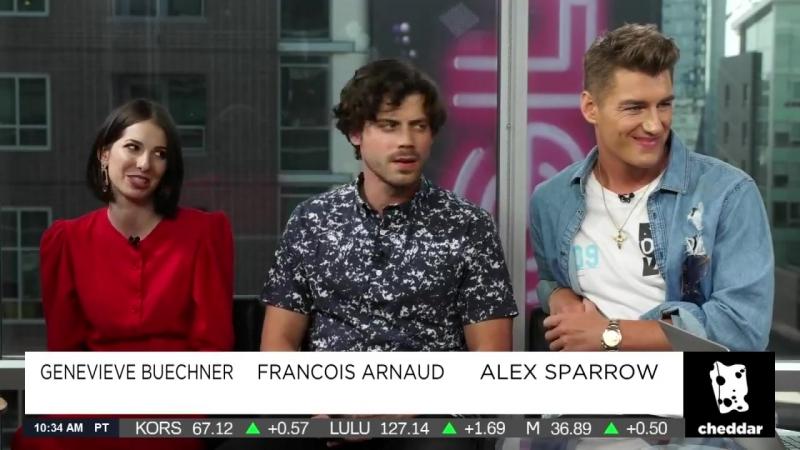UnREAL cast on Cheddar, July 2018