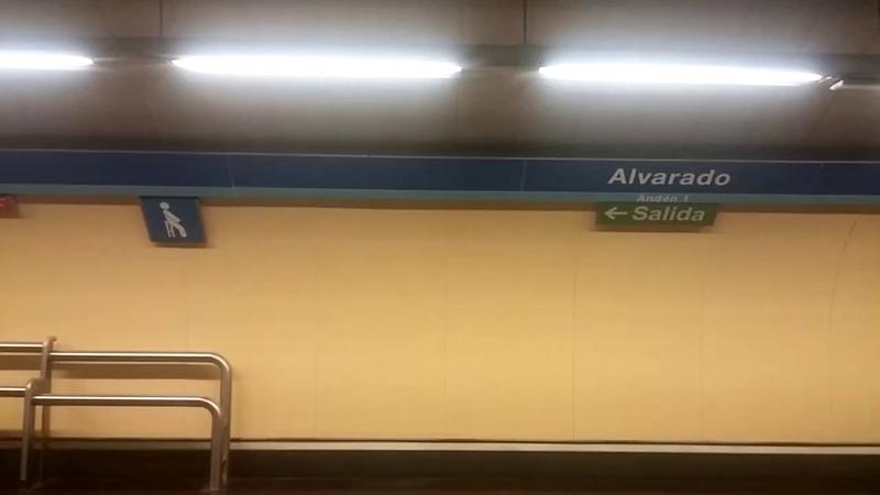 Metro de Madrid (Linea 1) Alvarado - Estrecho