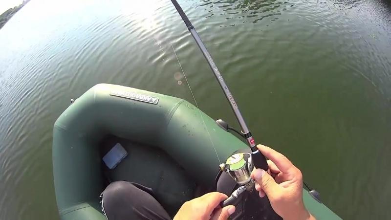 [В гостях у Рыбачка] Незабываемый клев окуня. Снасть Дроп шот. Русская рыбалка.