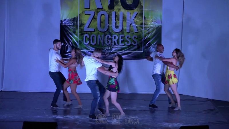 VII RIO ZOUK CONGRESS - Gilson Natasha - Léo Ana - Luiz Barbara