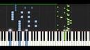 Different Heaven Nekozilla PIANO TUTORIAL