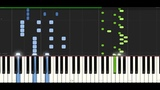 Different Heaven Nekozilla PIANO TUTORIAL