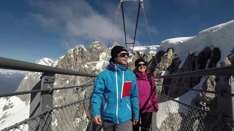 Dachstein Impressionen Sommer 2017 горный массив Дахштайн Зальцкаммергут нем Salzkammergut Австрия