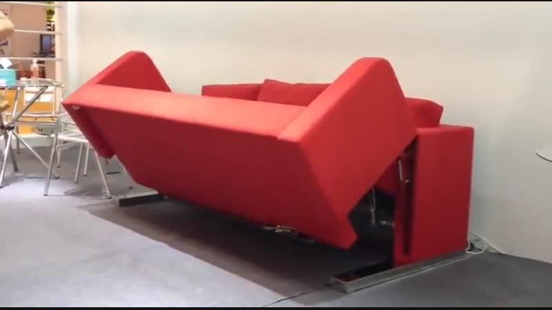 Диван трансформер с мотором