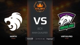 North vs Virtus.pro, mirage, FACEIT Major New Challengers Stage