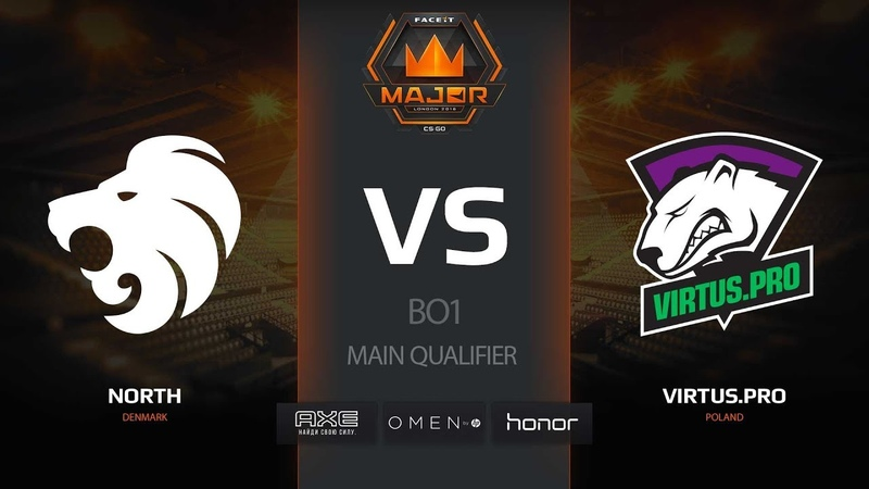 North vs Virtus.pro, mirage, FACEIT Major — New Challengers Stage