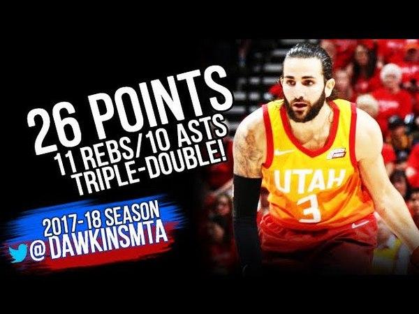 Ricky Rubio Triple-Double 2018 WCR1 Game 3 Utah Jazz vs OKC Thunder - 26-11-10! | FreeDawkins