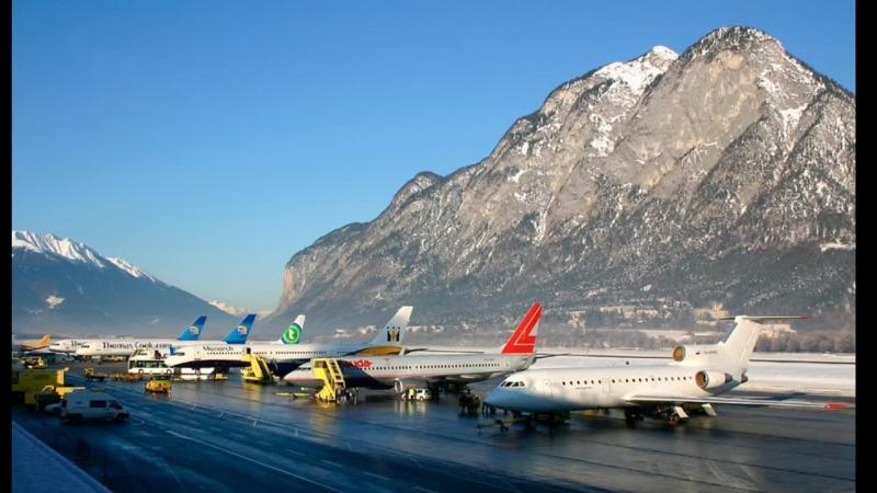 P3D v.4.3 || Брюссель [EBBR] - Инсбрук [LOWI] || Aerosoft A320