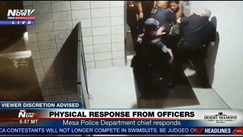 BREAKING: Mesa Police Chief Responds to Graphic Involving Officers (FNN)