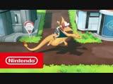 Pokémon: Let's Go, Pikachu! и Pokémon: Let's Go, Eevee! — обзорный трейлер (Nintendo Switch)