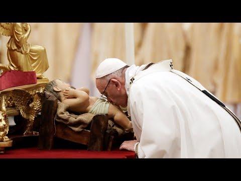Рождественская служба из Ватикана с участием Папы Франциска. Прямая трансляция