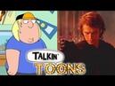 Seth Green Does a Prequel Star Wars Family Guy Mashup Talkin' Toons w Rob Paulsen