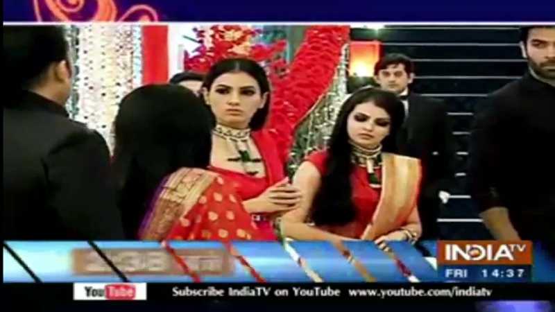Ishqbaaz : Shivaay - Anika's engagement ; On the set masti : 16 August 2017 Episode Twist.mp4