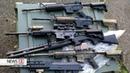 Waffenlager mit Sturmgewehren, Pistolen und 23.000 Patrionen endeckt