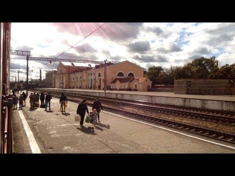 Путешествие 73 Из Киева в Брянск Вокзал пересадка на поезд до Калининграда Маршрут понравился