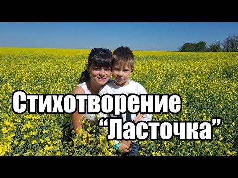 Стихотворение Алексея Плещеева - Травка зеленеет. Демишев Илья 7 лет.