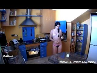 004.Ilona In Kitchen Sex