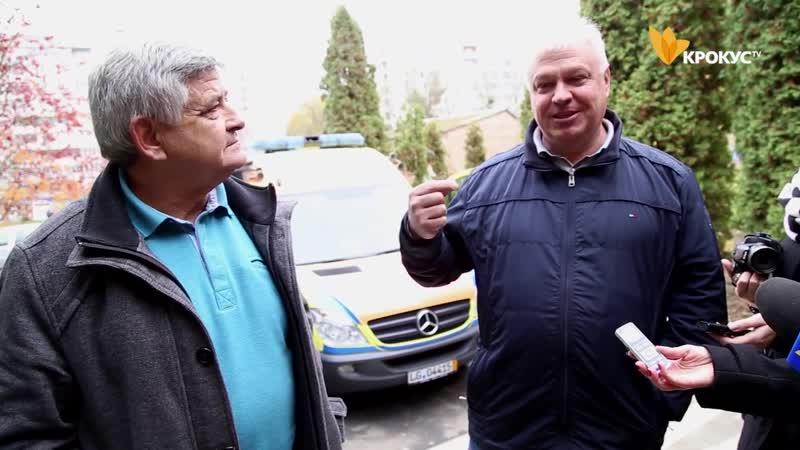 Білоцерківська міська лікарня №2 отримала у подарунок сучасний реанімобіль.