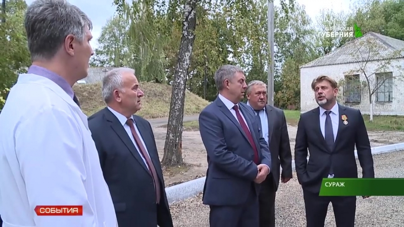 Губернатор Брянской области Александр Богомаз посетил «Пролетарий»
