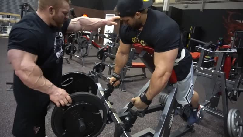 Flex Lewis, Regan Grimes Antoine Vaillant Train Back