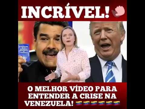 Gleisi explica o que está acontecendo na Venezuela
