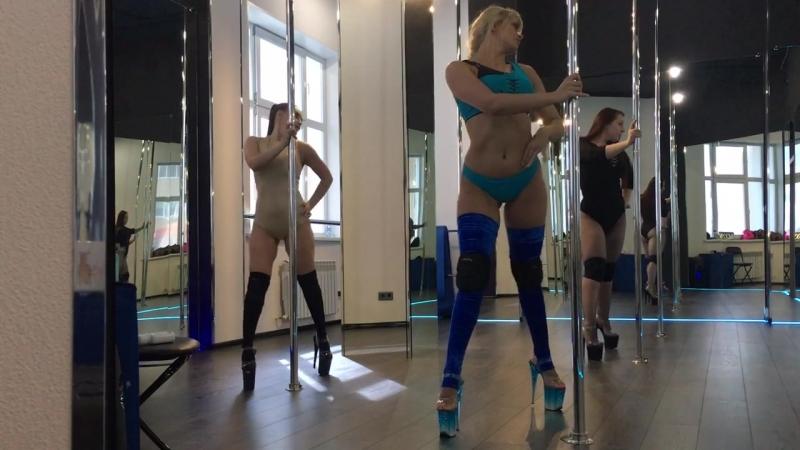 Pole Dance EXO в MOON pole dance studio Новый Уренгой