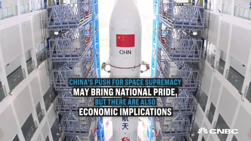 China's secret plan to crush SpaceX and the US space program 4 K