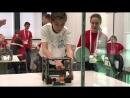 Робот-сортировщик, завоевавший бронзовую медаль на Всероссийской Робототехнической Олимпиаде