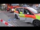 Volle Flasche geworfen Notärztin von Flüchtling schwer verletzt
