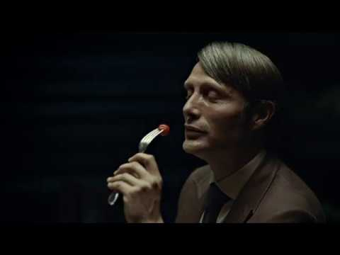 Hannibal lecter eating