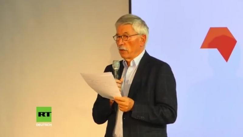 """Sarrazin stellt auf Frankfurter Buchmesse sein Islam-kritisches Buch """"Feindliche.mp4"""